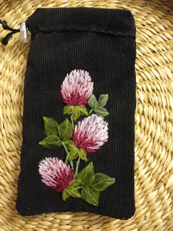 Изображение Gallery.ru / Фото #29 - Мешочки для телефонов и очков, косметички - Mari-vrn из коллекции вышивка лентами...