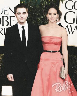 Robert Pattinson, Jennifer Lawrence