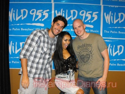 Performing at WiLD 95.5 in West Palm Beach, Florida [4 августа]