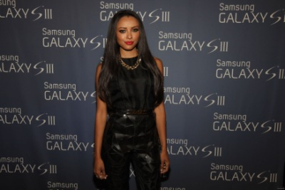 Kat Graham Celebrates Samsung Galaxy S III In Chicago [17 августа]