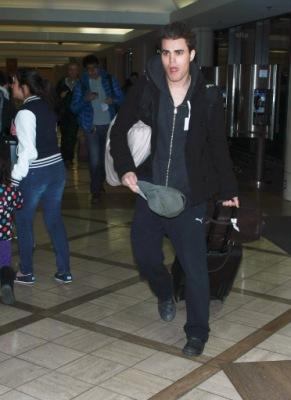 Пол в аэропорту ЛA [11 января]