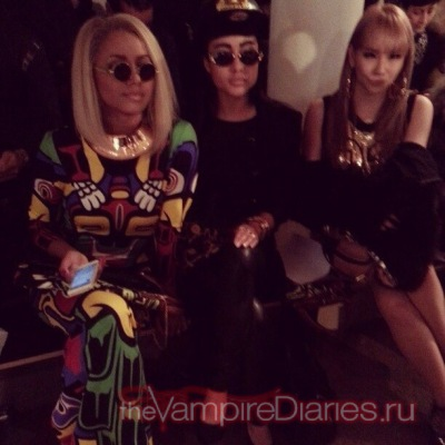 Jeremy Scott - Front Row - Fall 2013 MADE Fashion Week [13 февраля]