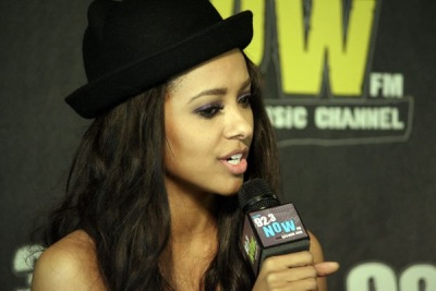 Kat Graham Visits 92.3 NOW [5 февраля]