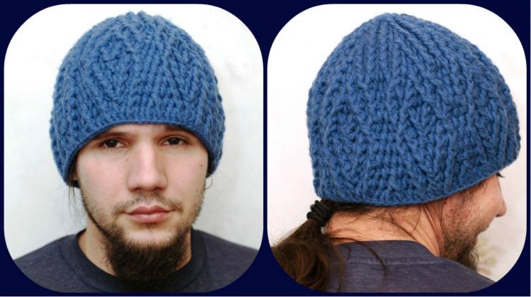 Zoomstreet интересные мужские вязаные шапки