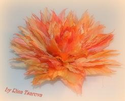 Цветы из органзы своими руками букеттопиариймастер