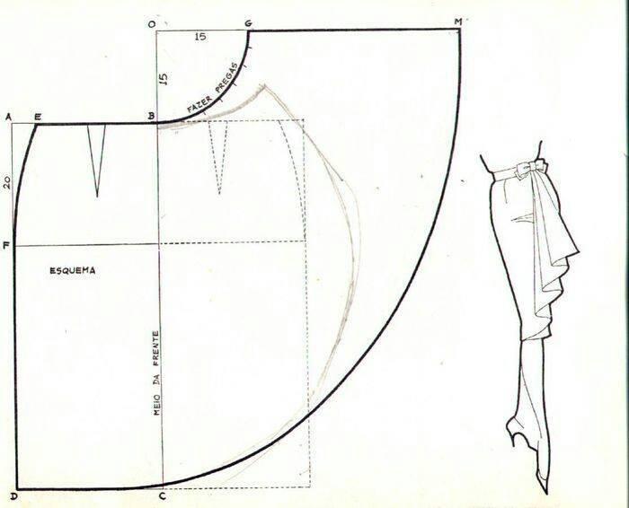 Как сшить юбку из трикотажа без выкройки своими руками