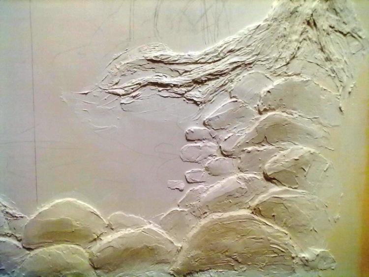 Роспись стен под камень своими руками