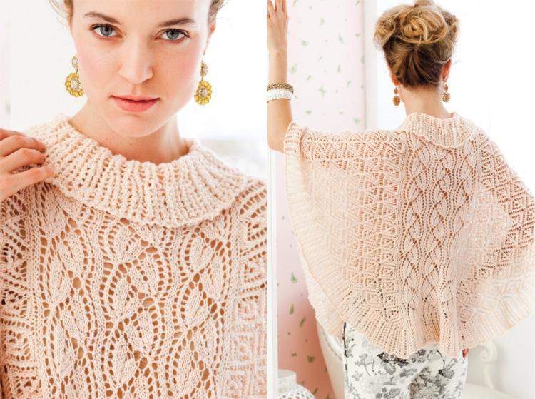 Стильные трикотажные кофты и модные вязаные свитера - тренды осень