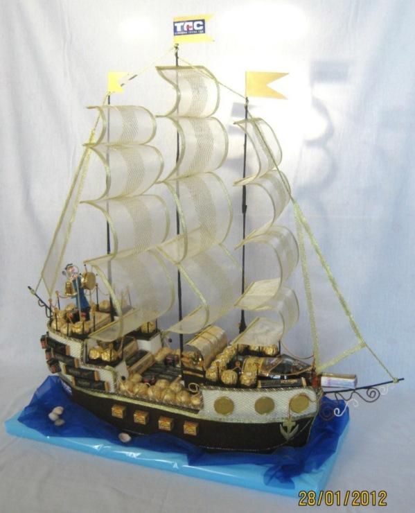 Корабль мастер класс фото