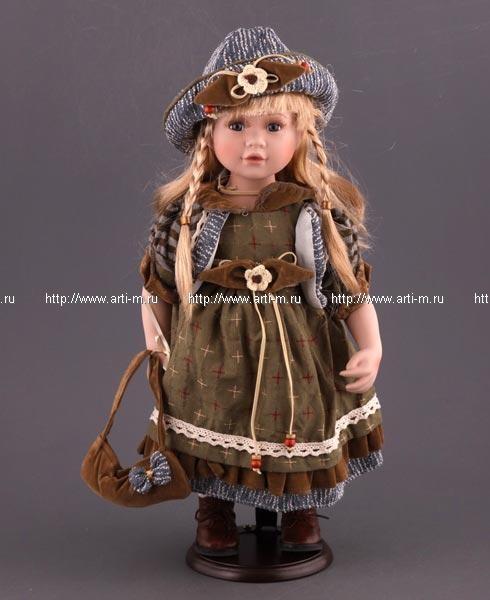 """2346096. Очаровательная фарфоровая кукла  """"Лена """" в праздничном наряде.  Это замечательный подарок к..."""