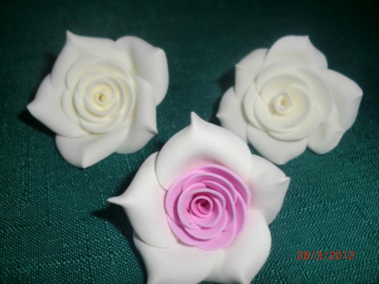 Цветок из фоамирана своими руками мастер класс
