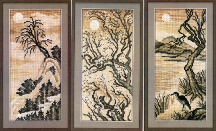Архив материалов - Вышивка-Схемы вышивки Вышивка крестом япония - Вышивка япония скачать.  Схемы вышивки крестом, и...