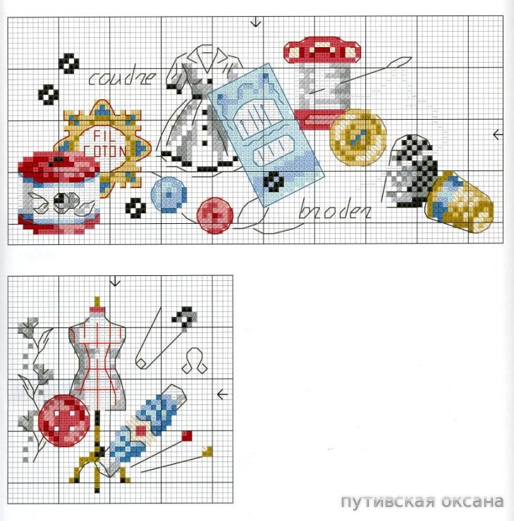 Схемы вышивки от мастериц 383