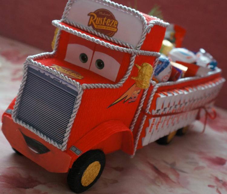 Машинки из мультиков своими руками