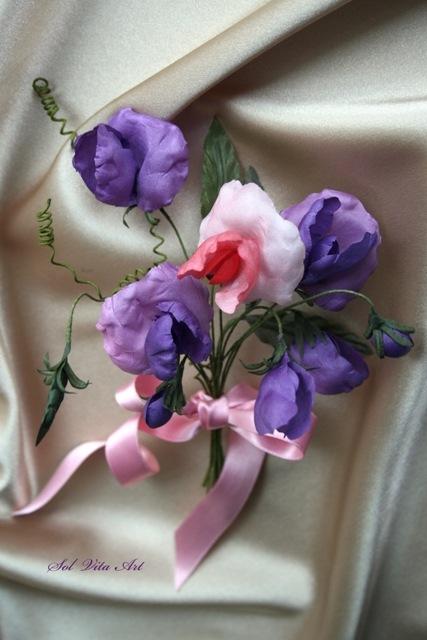 Gallery.ru / Фото #13 - Цветы из ткани 2012 - floweratelier.