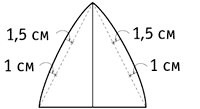 Высота клина = Обхват головы : 4 + 2 см. Построение выкройки клина. . КЕПКА