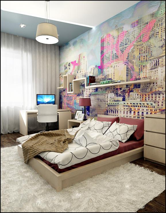 Молодежная комната фото
